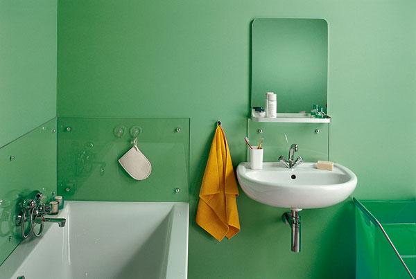 Отделка стены в ванной своими руками