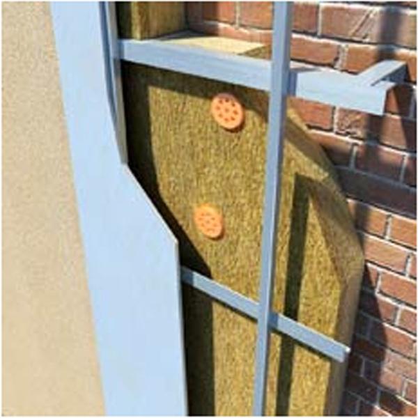Утепление фасадов вашего дома.
