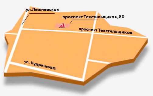 Иваново, База Аксон. Схема