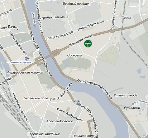 Санкт-Петербург, Народная