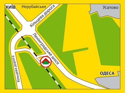 Новое ленинградское шоссе схема 2013