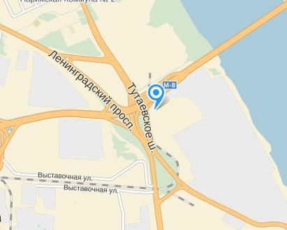 Ленинградский проспект.