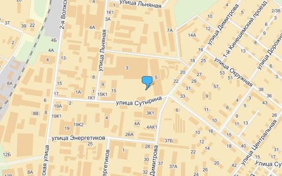 Кострома, Льняная улица.  Схема проезда к магазину.